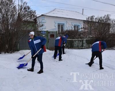 «Снежный  десант»  в  Кинель-Черкассах