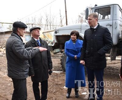 Рабочий  визит депутата  госдумы