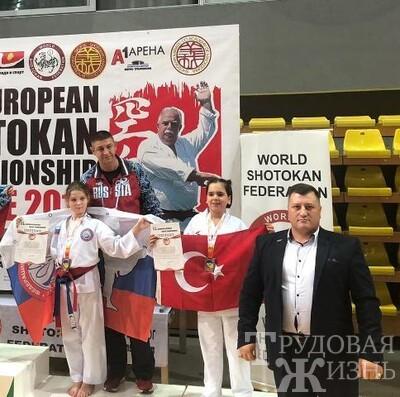 Юные  борцы  вернулись  из  Македонии
