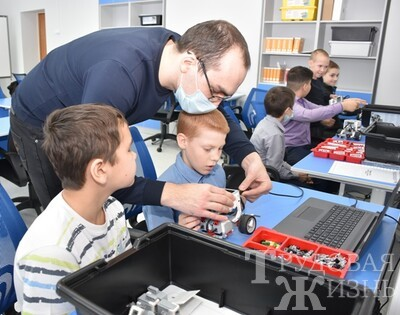 Мини-технопарк  мотивирует  и  развивает  мышление  детей