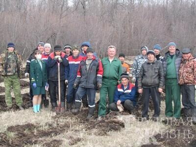Есть  такая  профессия  –  лес  защищать