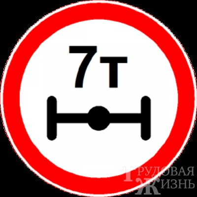 Вводится  временное  ограничение  движения  большегрузов